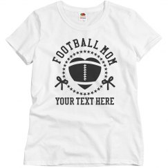 Customizable Football Mom Gear