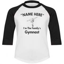 I'm the family gymnast