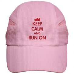 Keep Calm Run On Cap