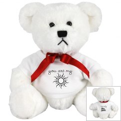 You are my sunshine teddy