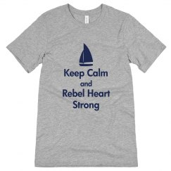 Keep Calm, Mens, Gray