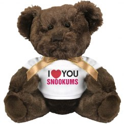I love you Snookums!