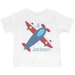 Airplane Birthday Boy