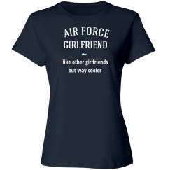 Air force girlfriend cool