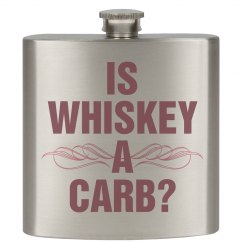 Funny Is Whiskey A Carb Flask