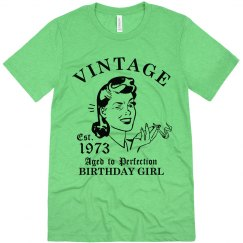 1973 Birthday Girl
