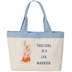 Lax Warrior Tote Bag