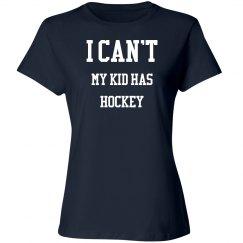 I can't, my kid has hockey