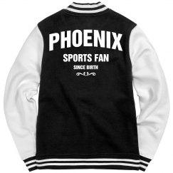 Phoenix sports fan since birth