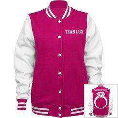 Team Lux Varsity Jacket