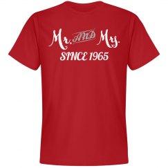 Mr & Mrs since 1965