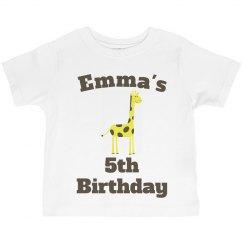 Emma's 5th birthday