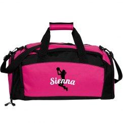 Sienna basketball bag