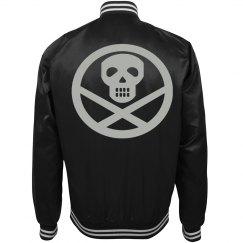 Silver Harley Quinn Costume Jacket