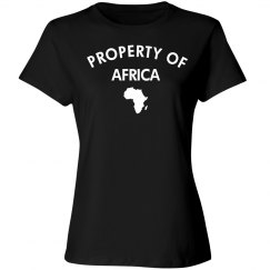 Property of africa