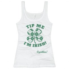 St Patricks Day Bar Staff Tip Me