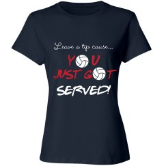 Volleyball - Just got served!