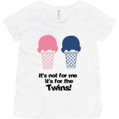 It's for the twins