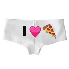 I Love Pizza Panties