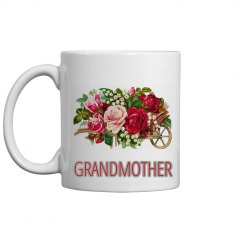 Floral Grandmother Mug