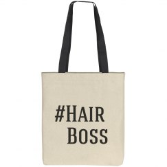 #Hair Boss Tote Bag