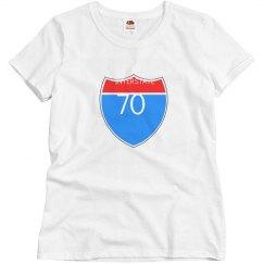Interstate 70 shirt