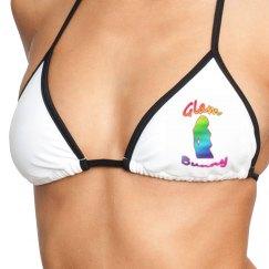 GB Rainbow Love Bikini Top