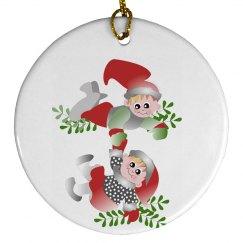 Cute Elves Ornament