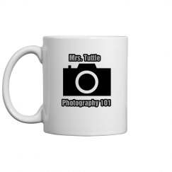 Photography Teacher Mug