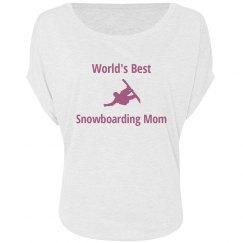 Snowboarding Mom