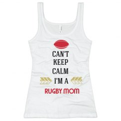 Rugby Mom Can't Keep Calm