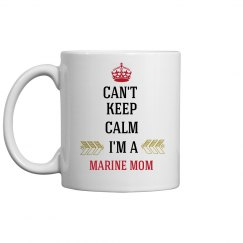 MARINE MOM COFFEE MUG