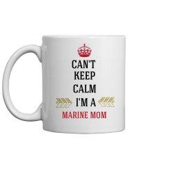 MARINE MOM COFFEE MUG