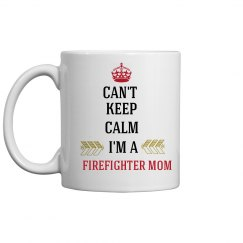 Firefighter MOM COFFEE MUG