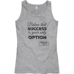 Success tank (tshirt material)