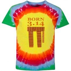 Pi - Born 3.14 Colorful