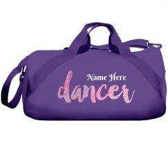 Custom Metallic Dancer Bag