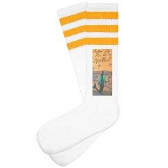 Swim By For A Spell Mermaid Socks