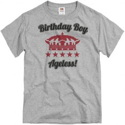 Birthday boy, ageless!