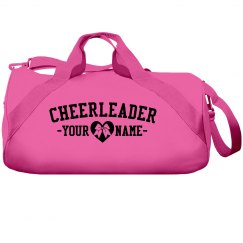 Cheerleader Heart Bow Bag