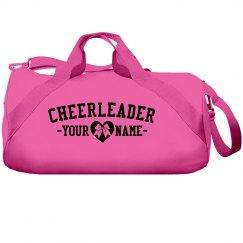 Cheerleader Heart Bow Bag