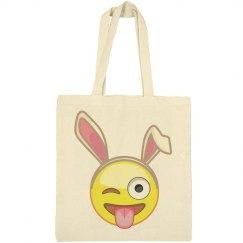 Crazy Emoji Easter Bunny