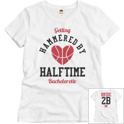 Basketball Bachelorette Party Hammered Bride
