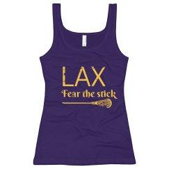 Fear the Stick LAX Lacrosse Tank