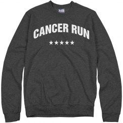 Cancer Run Sweatshirt