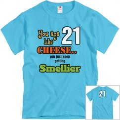 smelly birthday age 21