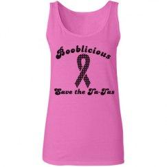 Booblicious Pink Tank