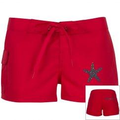 Mermaid Starfish Shorts