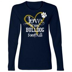 Love Bulldog Football