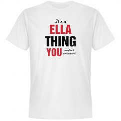 It's a Ella thing